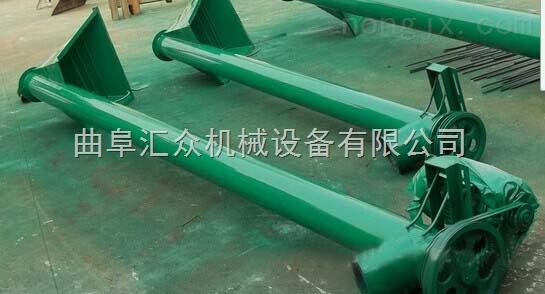 螺旋杆式饲料上料机,化肥颗粒提升机价格