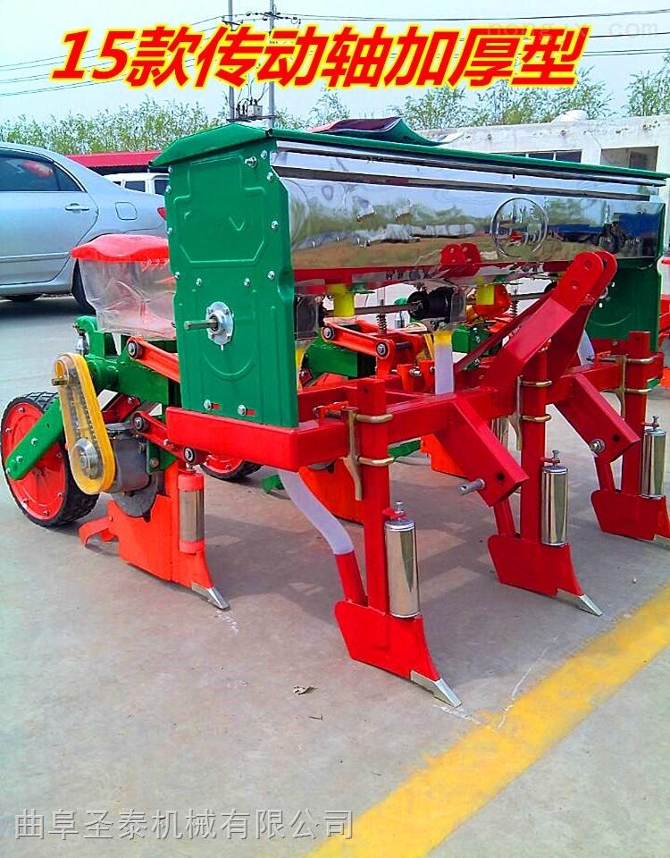zui先進玉米播種施肥機 新型玉米免耕播種機