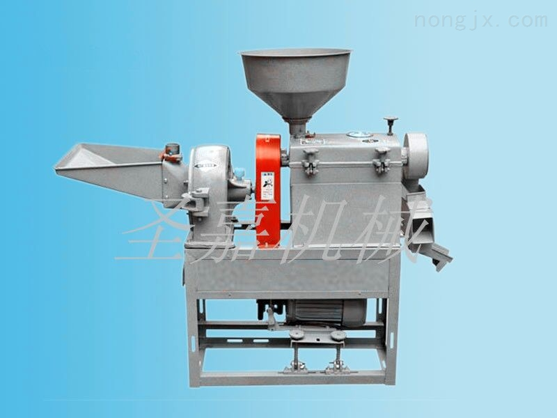 襄阳家用小型碾米机 圣嘉多功能碾米机价格