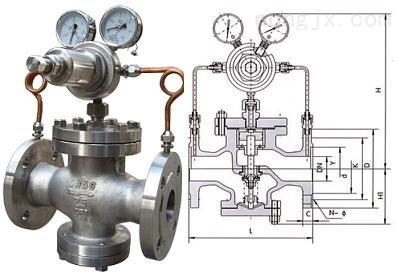 高爐煤氣減壓閥消聲器,高爐煤氣調壓閥組消音器,消音器
