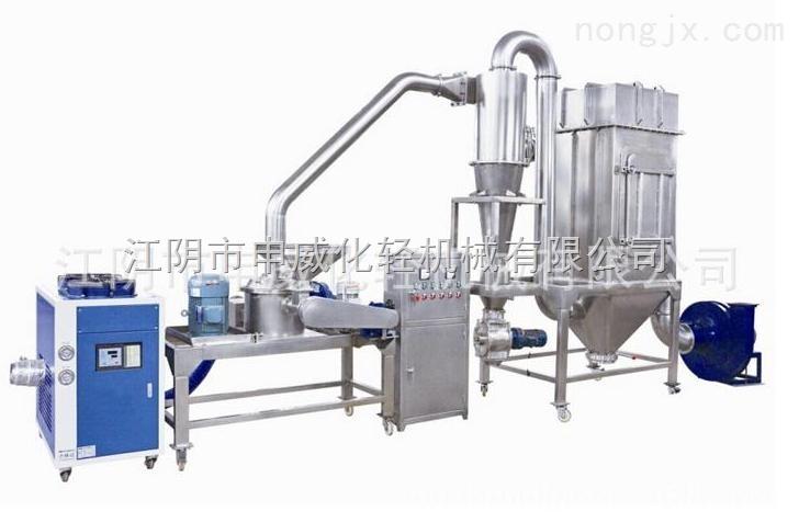 低温粉碎机-WFJ系列食品粉碎机-茶叶超微粉碎机-可加装冷风机