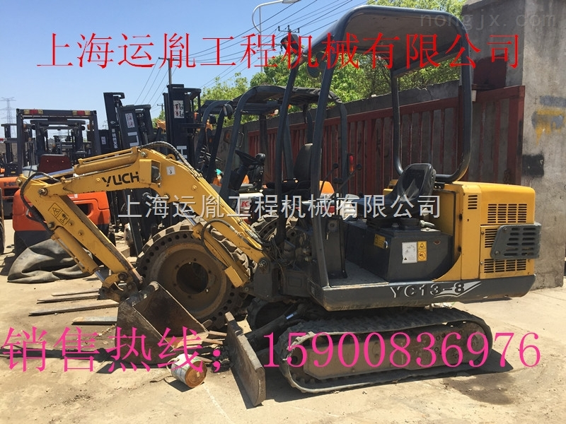 农场挖地基专用 玉柴13挖掘机上海运胤销售