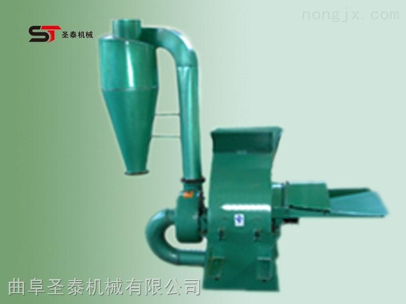 玉米秸秆小型粉碎机,自动进料稻草麦草粉碎机