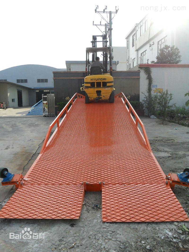 DCQY-8-四川移动式登车桥液压登车桥设备厂家