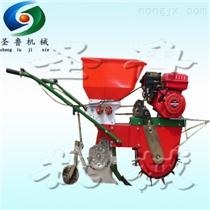 小型汽油播种机 两行汽油播种机