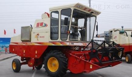 山东金亿春雨4LZ-2.5型履带自走式全喂入水稻联合收割机