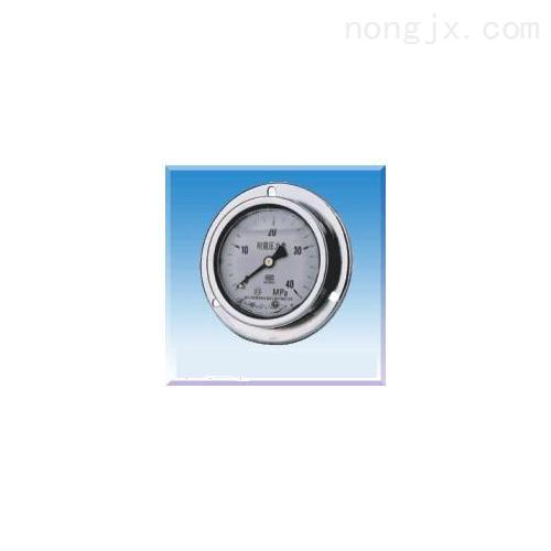 [新品] 不锈钢耐震压力表(Y-50B/Y-60B/Y-75B/Y-)