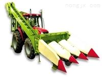 四平东风4YB-3三行背负式玉米收割机
