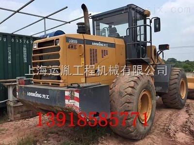 威海龙工LG855D装载机5吨侧翻铲车价格