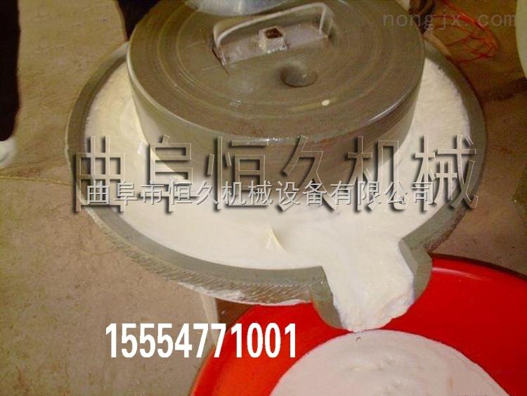 电动石磨豆浆机小型商用天然仿古砂岩石磨黄豆大米磨浆机 豆腐机 点豆腐石磨机价格