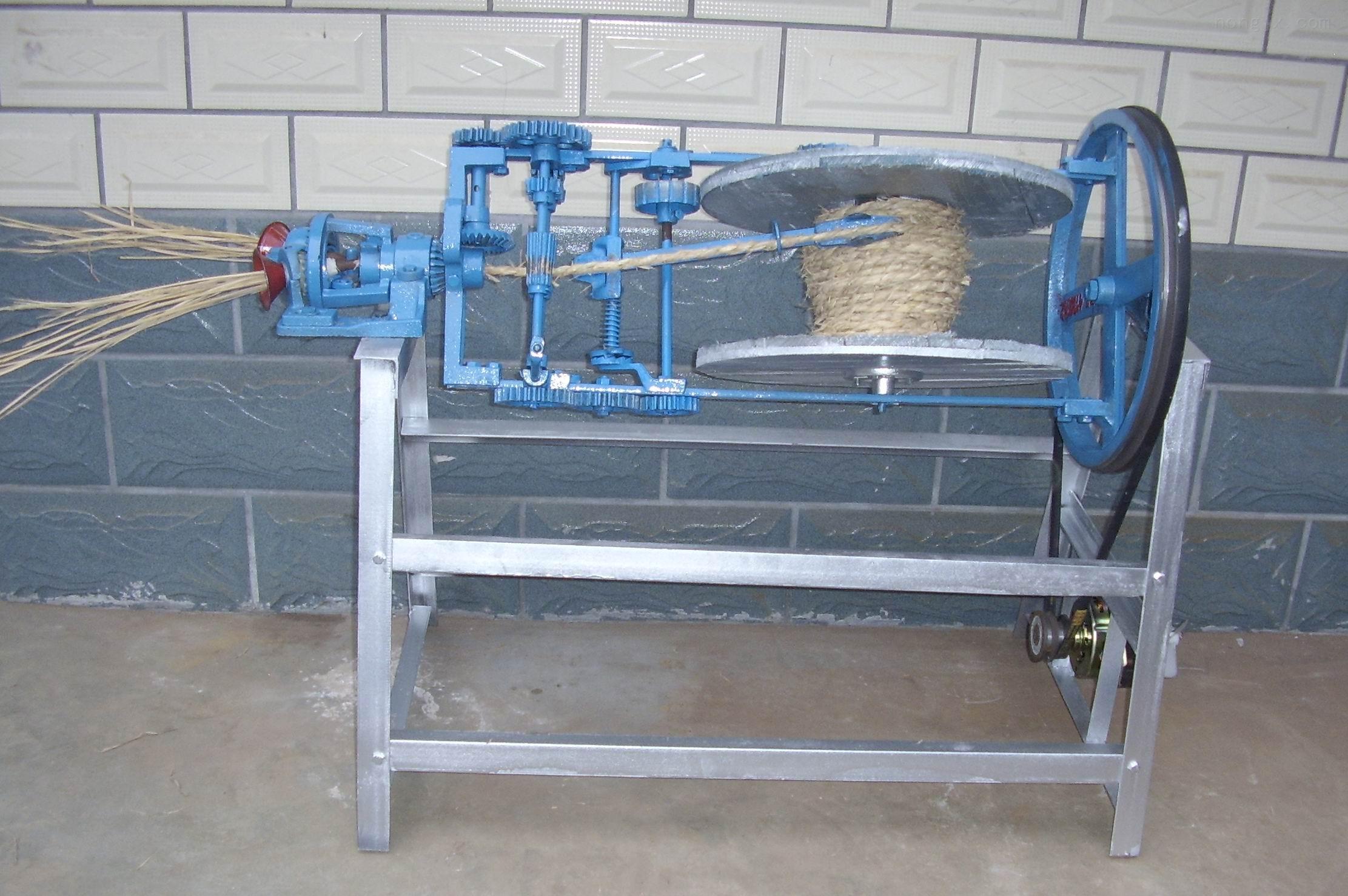 草绳机 稻草绳编织机  电动草绳机