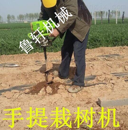 打坑機打孔機設備 大姚縣小型栽樹挖坑機  打眼機