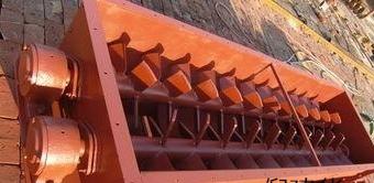 江苏桨叶式粉尘加湿搅拌机河北沧州英杰机械(倪建华)