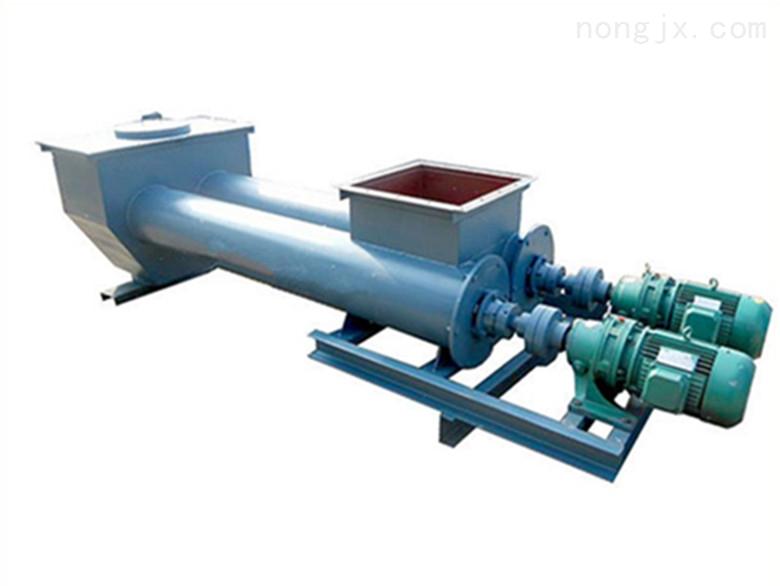 普通螺旋输送机升级款:SLS双管螺旋输送机