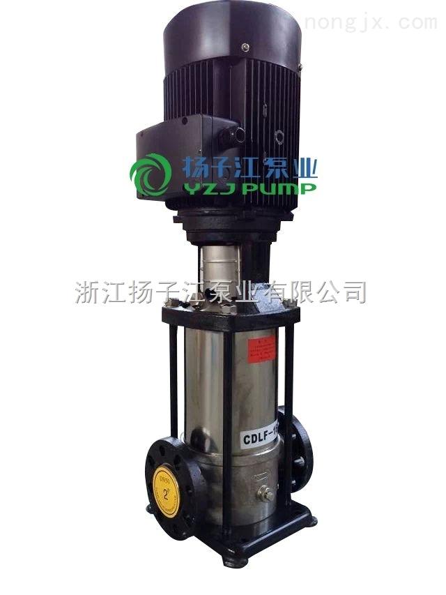 CDLF系列轻型不锈钢立式多级管道泵_管道离心泵