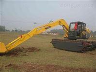 供应力士德SC210SD-2水陆两用挖掘机、河道清淤挖掘机