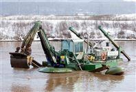 供应江南重工电话13554557594水陆两用挖掘机