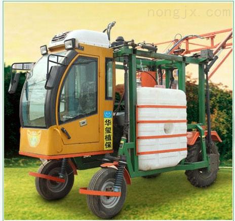 吉林华玺高架玉米喷药机高杆喷雾机自走式玉米打药机大型打药车玉米喷药机