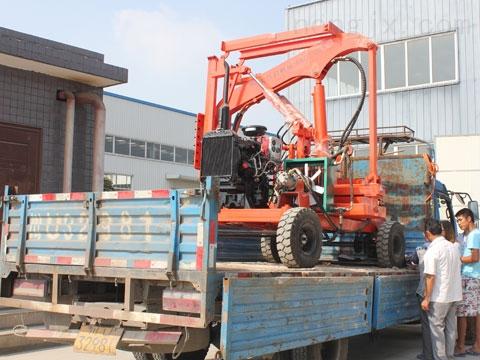 6吨柴油锤打桩机 配导杆式、筒式柴油打桩锤打预制桩
