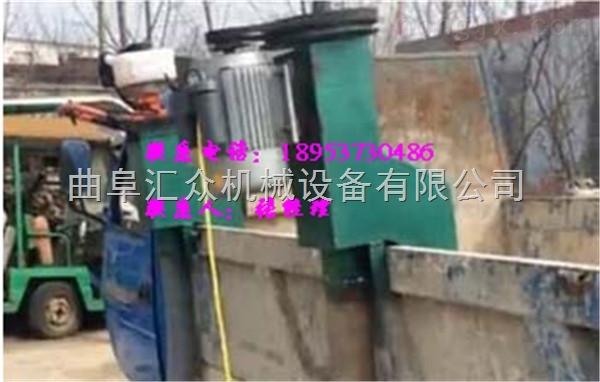 自吸内置弹簧化肥装罐抽料机 装车软管吸料机