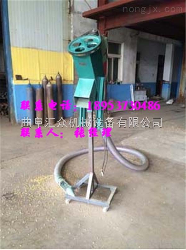 山东电动车载式吸料机,螺旋软管式吸粮机