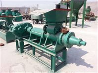 木炭粉制棒机 新型煤棒挤出机 炭粉成型机使用方便效率高