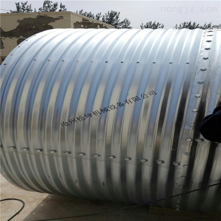 sk-dxlt-养猪设备 镀锌料塔 可定制料塔 镀锌饲料塔