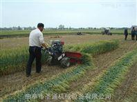 手扶自走式柴油大马力小麦水稻收割机 药材收割机