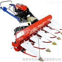 卧式侧铺水稻收割机 节能型手扶收割机