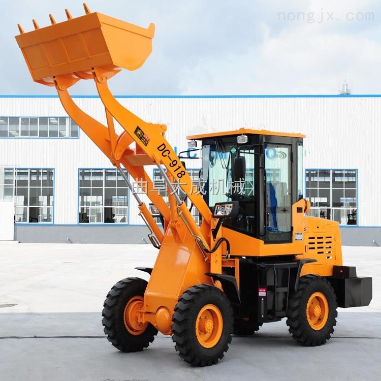 工程前卸裝載機 卸高3米小型鏟車 38KW農用裝載機