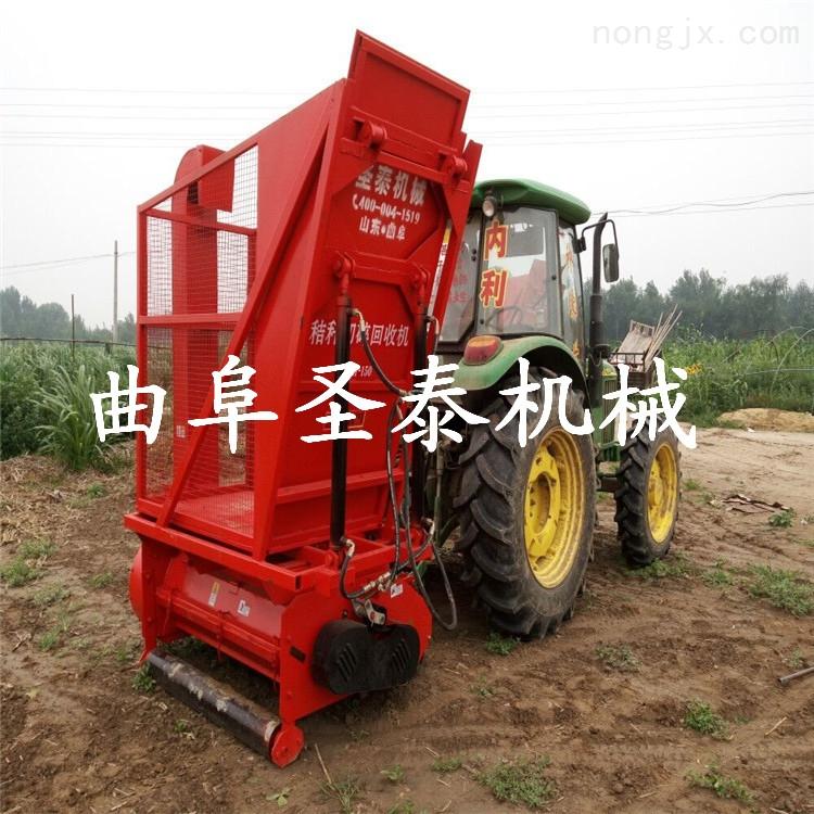 ST-1500-秸秆切碎回收机,玉米秸秆青贮收获机