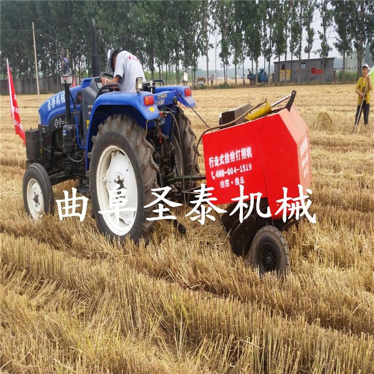 小型捆草机价格 麦秸秆打捆机
