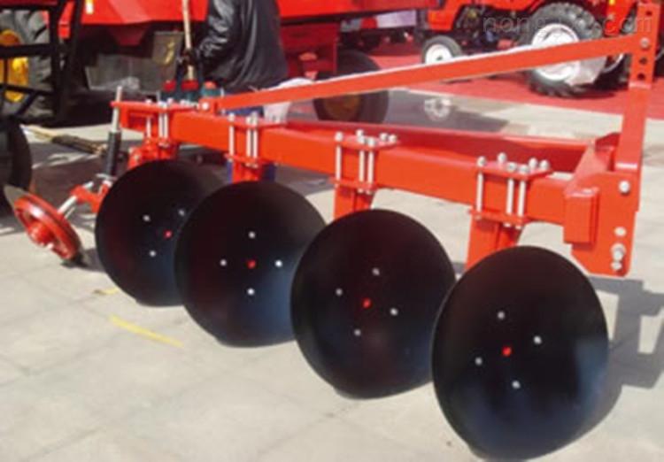 厂家直供80-100马力拖拉机带的圆盘犁 耕地犁土壤耕种机械1LY-425