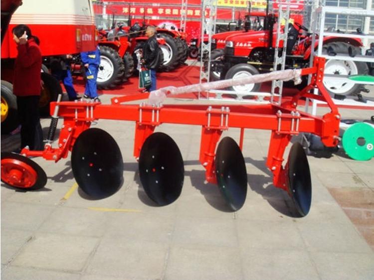 啟辰廠家直適合80-100馬力銷拖拉機帶的圓盤犁 耕地犁1LY-425