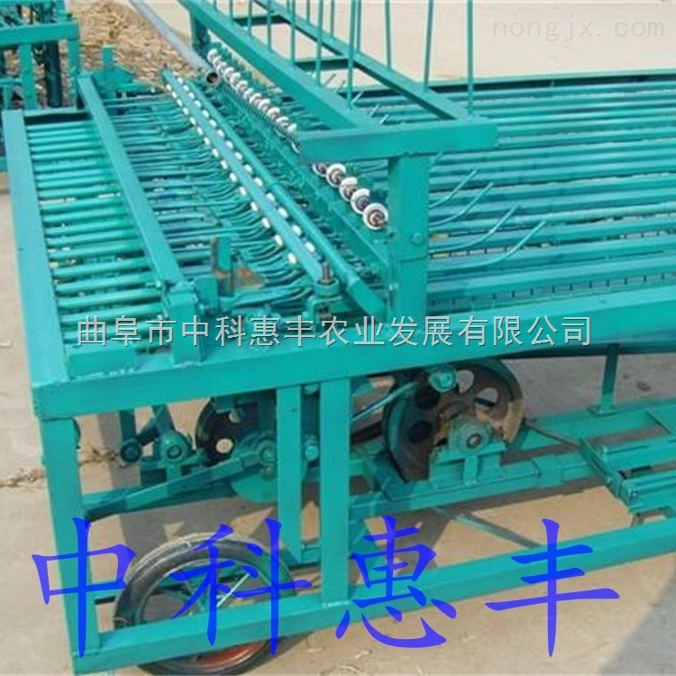 zk-CLJ100型全自動編織機溫室大棚設備自帶電機草簾編織機寬度