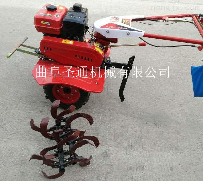 手拉启动式微耕机 农用小型多功能微耕机