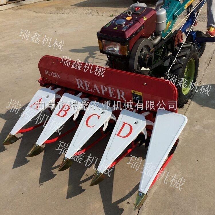 新型多功能水稻小麦牧草收割机 手推式起草皮机 手推式草坪机