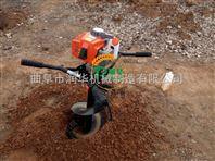 打桩机价格 护栏立柱打桩机型号 优质挖坑机