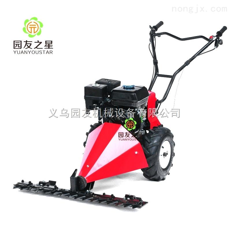 义乌园友机械-小型气动割草机 手推式剪草割灌机 四冲程背负式小型打草除草机