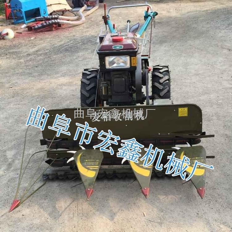 水稻小型收割机 小麦割晒机 多功能1.6割幅米收割机