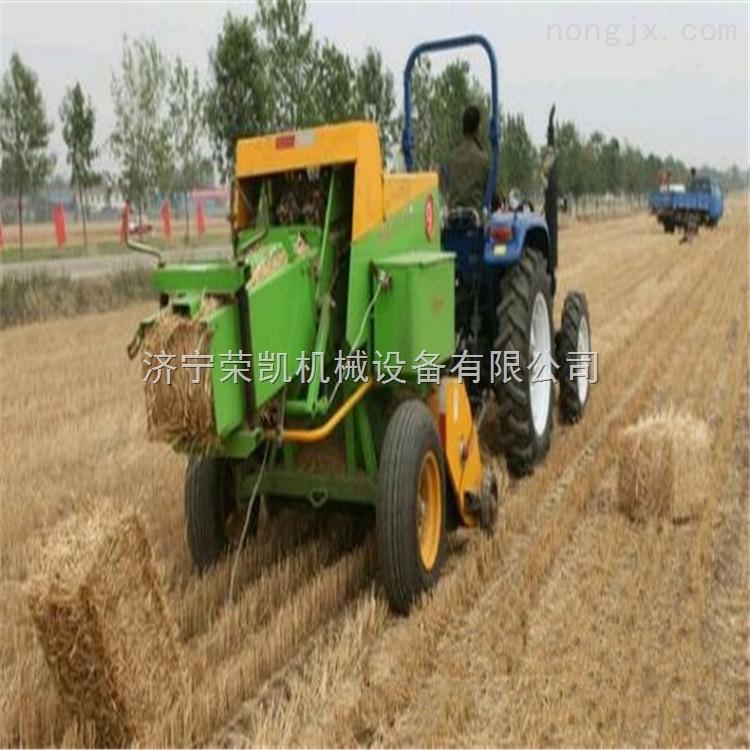 牵引式方捆机    小麦秸秆方捆机价格