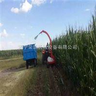 小四轮青贮机厂家价格  玉米青贮收割机视频