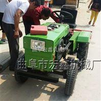 小型四轮拖拉机报价 拖拉机带旋耕除草机图片