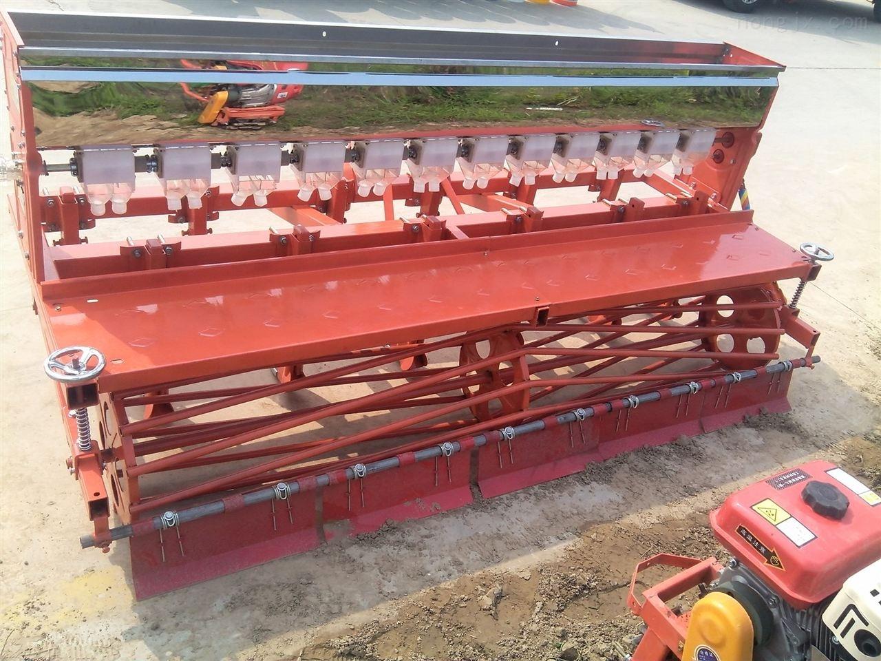 免耕黄豆播种机 一次2粒玉米精播机 拖拉机带大白菜施肥播种机