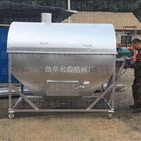 芝麻炒货机 滚筒式燃气炒货机厂家 全自动炒货机价格