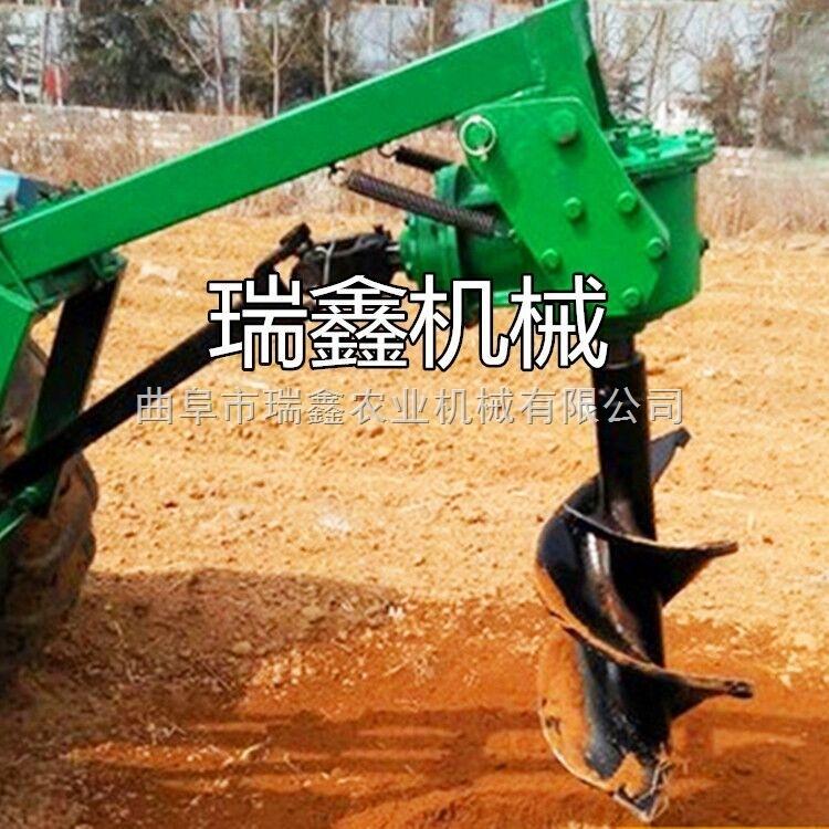 RX-WKJ-动力强劲挖洞机 瑞鑫公司挖坑机 车载式大型植树挖坑机