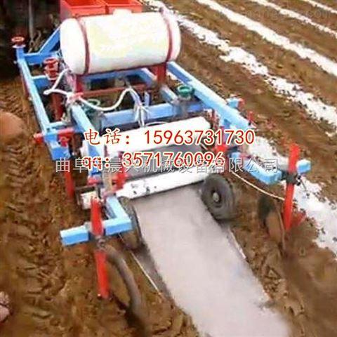花生播种机 手扶 播种 覆土 喷药 覆膜多功能 四川省 贵州省