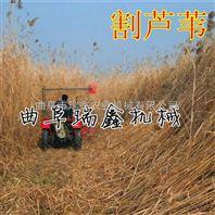 收割水稻打捆机一体机 稻麦专业割晒机 手扶艾草收割机操作简单