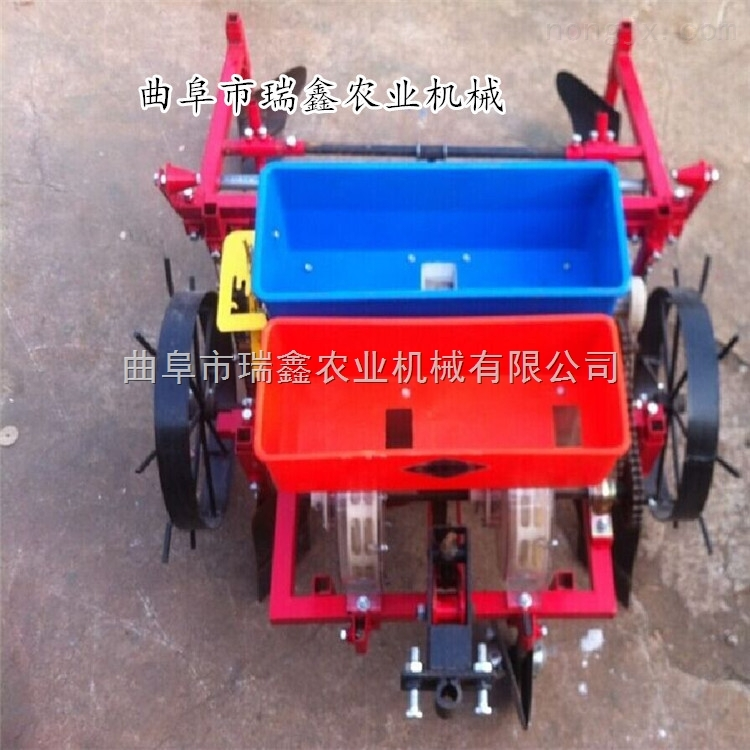 新款覆膜机 农用地膜机 精密玉米播种机