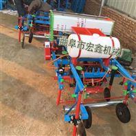 花生种植覆膜机 拖拉机带动花生起垄播种施肥喷药覆膜机价格
